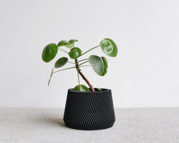 Black Savane indoor planter