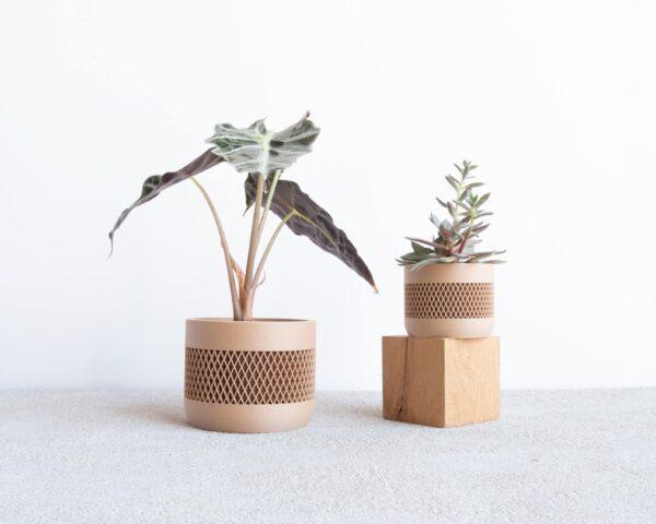 math indoor wood planter