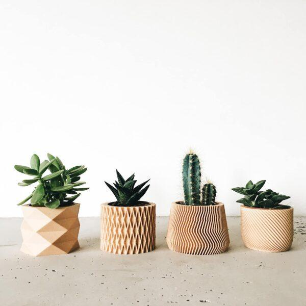 set of 4 planter