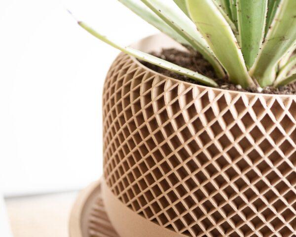 Large indoor planter