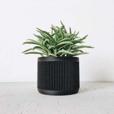 Black Indoor Planter - JAPAN
