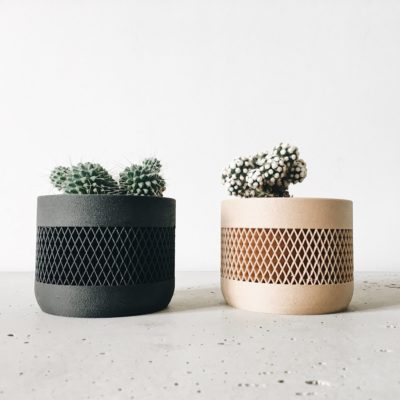 Set of 2 planters - Math