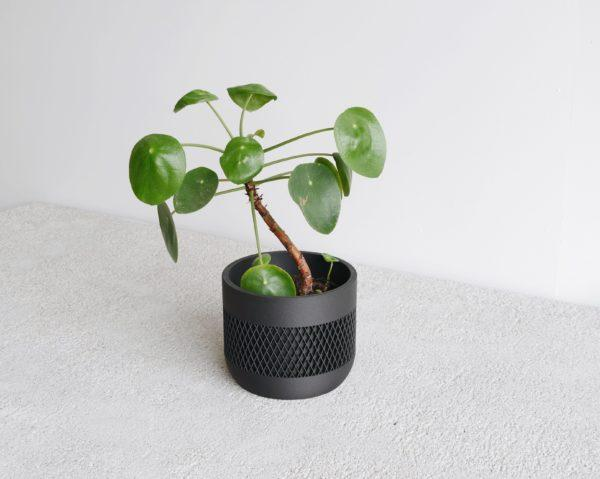 Black Indoor Planter - MATH