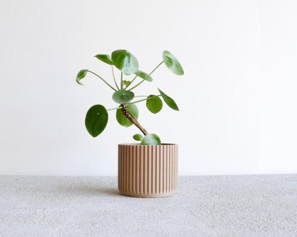 Stockholm pot for natural wood
