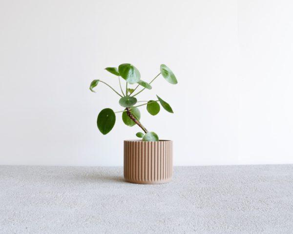 stockholm pot natural wood