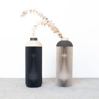 ONDE Vase Grey
