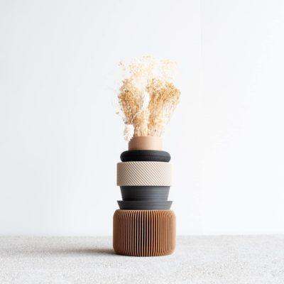 Nu Three Vase