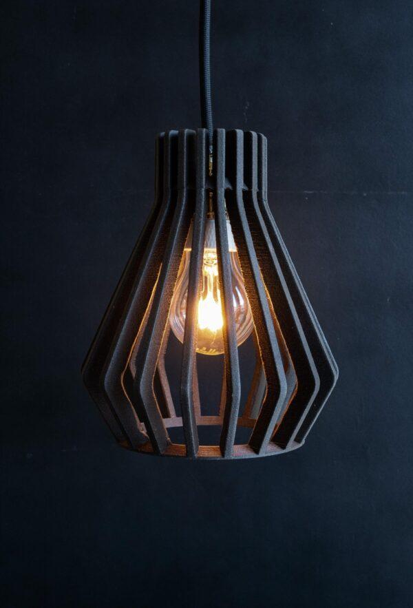 Black OHE Pendant Light